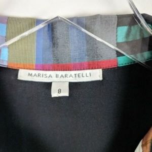 Marisa Baratelli Jackets & Coats - NWOT Marisa Baratelli Thai Silk Blazer Patchwork